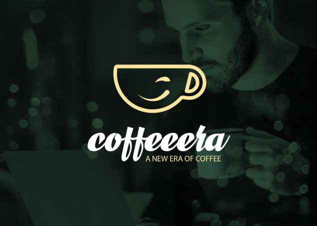 Logo design for coffeeera, a cafe in dubai