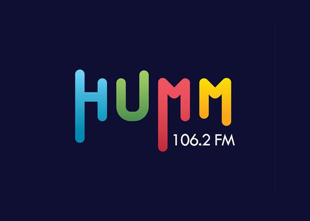 Humm radio fm - logo design portfolio
