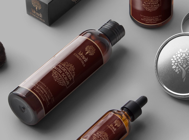 khadi essentials packaging design